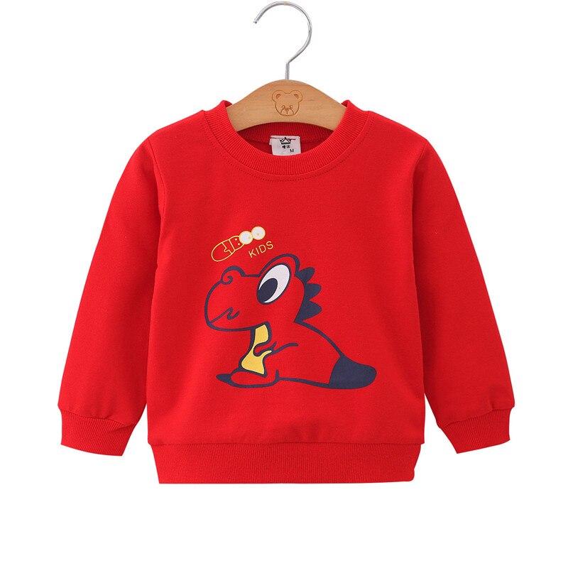 Unini-yun Autumn and Winter Clothing New Children's Clothing Long Sleeve Cotton Sweatshirt Cartoon Boys Girls Sweatshirt