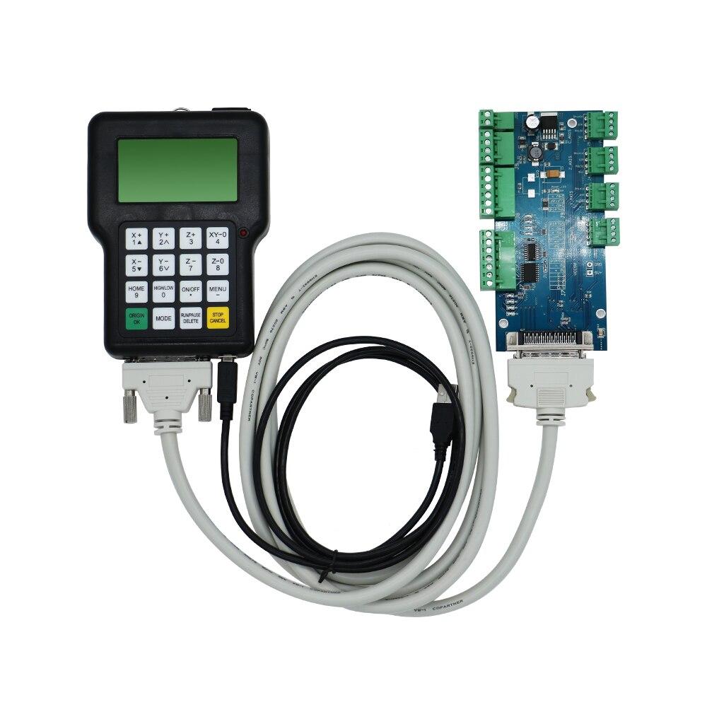 جهاز تحكم RZNC 0501 DSP بنظام 3 محاور 0501 لجهاز توجيه رقمي باستخدام الحاسوب DSP0501 HKNC 0501HDDC مقبض دليل النسخة الإنجليزية عن بعد
