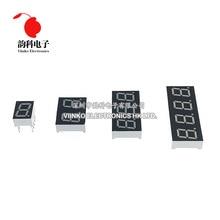 5pcs 0.4inch LED display 7 Segment 1 Bit/2 Bit/3 Bit/4 Bit Digit Tube Red Common Cathode / Anode Digital 0.4 inch 7segment