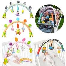 Bébés Musical Mobile pour berceau en peluche sur le lit bambins hochet nouveau-né bébé garçon jouet Clip de fixation 0-12 mois/13-24 mois