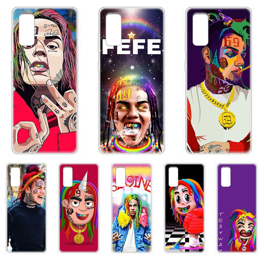 6ix9ine Tekashi69 Daniel Hernandez Transparent Phone Case For SamSung Galaxy S 7 8 9 10 11 20 a 20e 50 51 70 71 Plus Edge Ultra