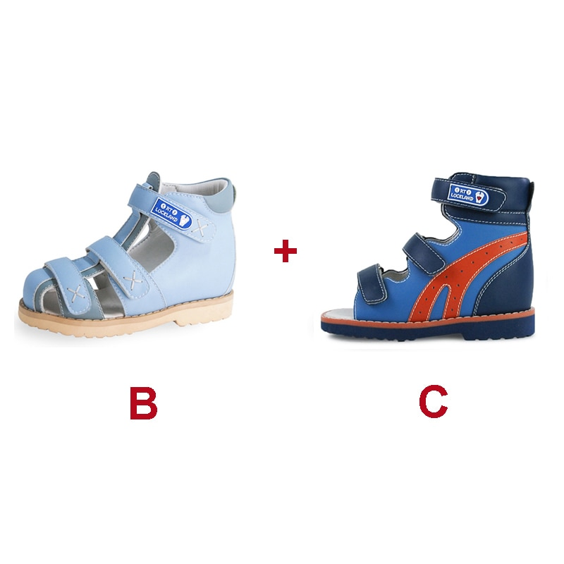 Children Orthopedic Leather School Casual Sport Cool Summer Fashion Stylish Corrective Luxury Sandal Shoes for Kids Baby Toddler enlarge