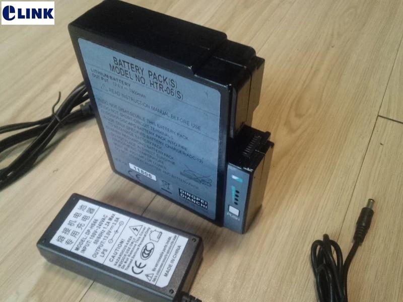 بطارية HTR-06(S) ل fujikura 50s الانصهار جهاز الربط الألياف البصرية الربط آلة المحرز في الصين نوعية جيدة مصنع توريد ELINK