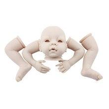 Toys For Children 22 Handmade Lifelike Newborn Silicone Vinyl Reborn Baby Doll Full Body Gifts