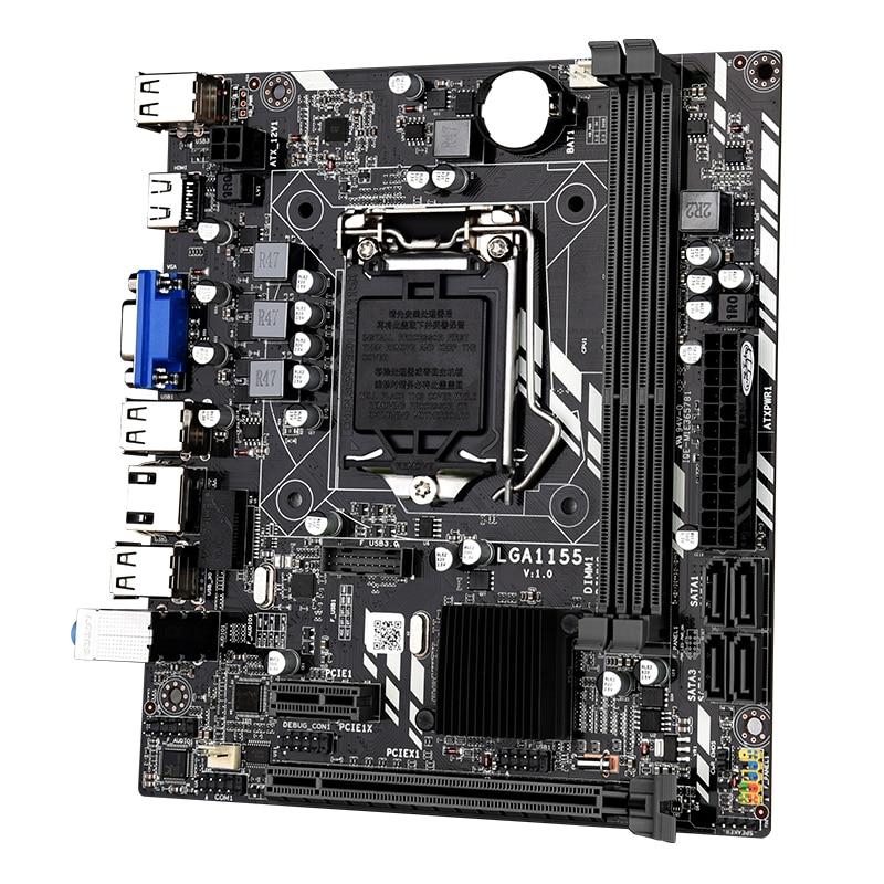 LGA 1155 Motherboard for Intel Core i7 / i5 / i3 / pentium / celeron LGA1155 DDR3 M-ATX Intel Motherboards H61