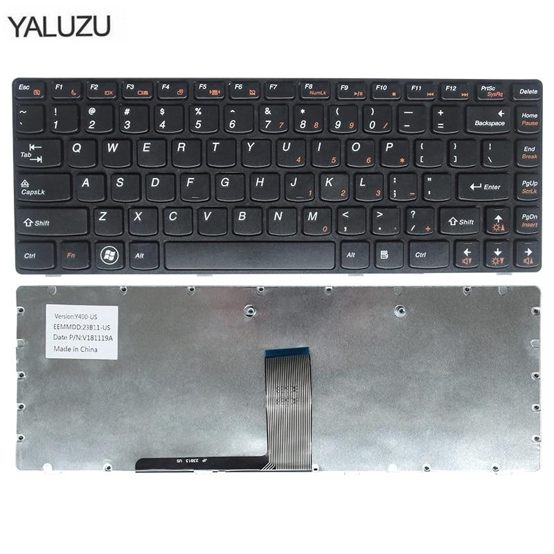 Inglês teclado do laptop Para Lenovo Y400 Y410 Y430P Y400P Y410P Y400N Y410N EUA preto