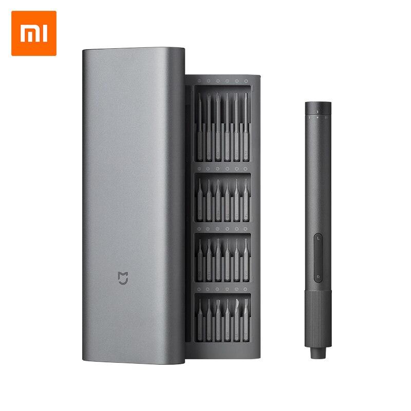 Xiaomi Mijia-مفكات كهربائية دقيقة ، مجموعة مفكات براغي قابلة لإعادة الشحن S2 ، أداة إصلاح الترباس الصلب للهاتف المحمول