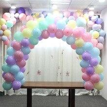 Wydłużają duży balon łuki stół łuki dekoracje ślubne panna młoda wakacje urodziny przyjaciół zaopatrzenie firm