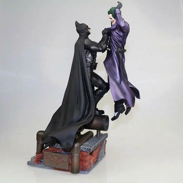 Figura de acción de Batman VS Joker, modelo de 300mm de Diorama, Batman, Joker, Brinquedos
