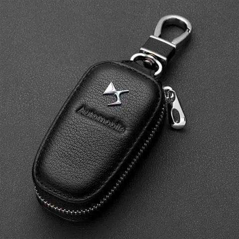 Кожаный чехол для автомобильного ключа с логотипом Peter, чехол для дистанционного ключа, маркировка «DS SPIRIT» DS3 DS4 DS4S DS5 DS 5LS DS6 DS7 WILD RUBIS