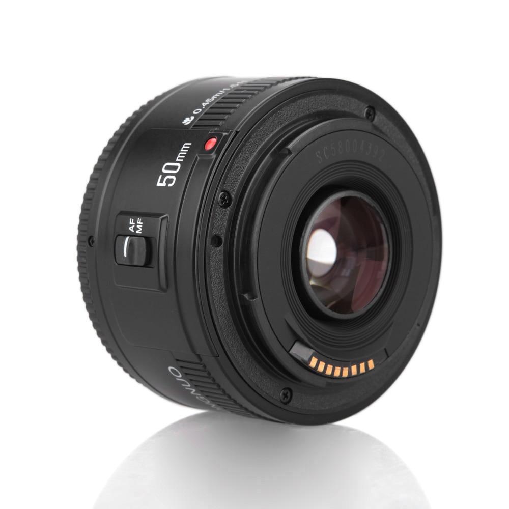 YONGNUO-عدسة كاميرا YN EF 50 مللي متر f/1.8 AF ، عدسة 1:1.8 قياسية مع التركيز التلقائي لكاميرات Canon EOS DSLR