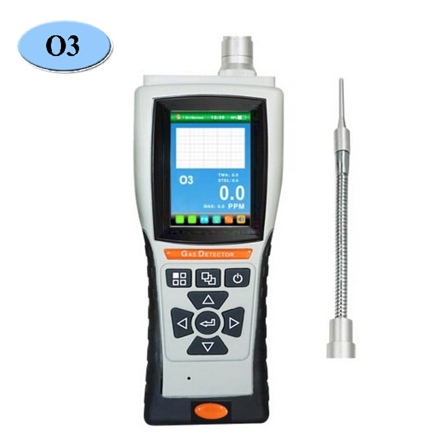 O3 озоновый газовый анализатор 0-20/50/100/200 ppm цифровой детектор газа датчик утечки USB порт Тестер монитор