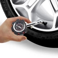 zztzz car bike tire pressure gauge 100 psi tire pressure detection diagnostic tool for car motorcycle bike truck wheel tires