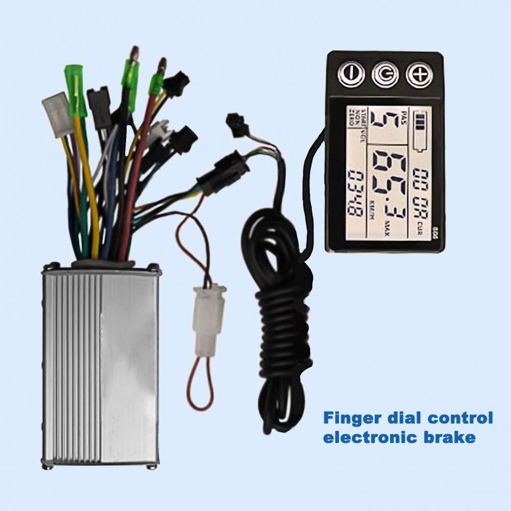 24V/36V/48V Electric Bicycle Scooter Controller Metal 4-speed LCD display Suitable for electric bicycle control accessories