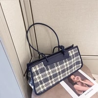 women armpit bag bag 2021 new niche design fashion bag plaid single shoulder messenger bag luxury kelly bag