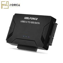 SATA to USB IDE Adapter USB 3.0 2.0 Sata 3 Cable Combo for 2.5 3.5 Hard Disk Drive HDD SSD USB Converter IDE SATA Adapter