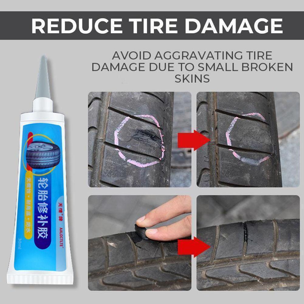 30 мл ремонт автомобильных шин клей для шин герметик для проколов клей аксессуары инструменты для быстрого ремонта M9M5