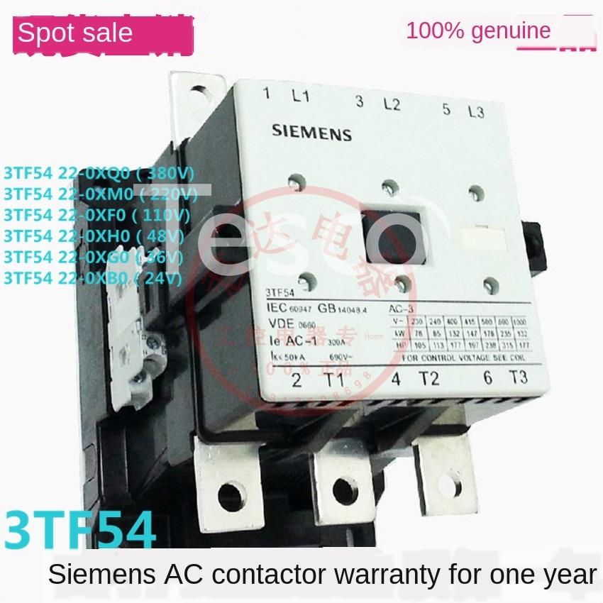 [Original] Siemens 3TF54 22-0X contactor 380V 220V 110V 36V 24V