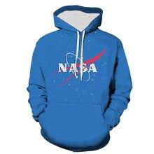 2021 New Cool Nasa Men Women Children Hoodies 3D Printed Sweatshirts Brand Boy Girl kids Streetwear