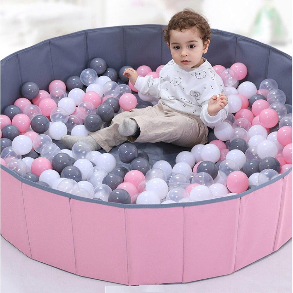 200 Pcs/Lot Plastic Balls Eco-Friendly Colorful Ball Soft Kids Swim Pit Toys Beach Balls Water Pool Ocean Wave Balls Dia 5.5 cm