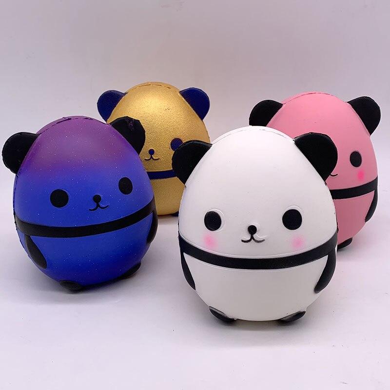 Новый панда Langzaam Stijgende Creatieve Dier стоянки резиновые игрушки рассеивает геур стресс Plezier Voor подарок для детей
