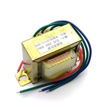 20W EI noyau de Ferrite entrée 220V 50Hz montage Vertical transformateur de puissance tension de sortie doublement 12V