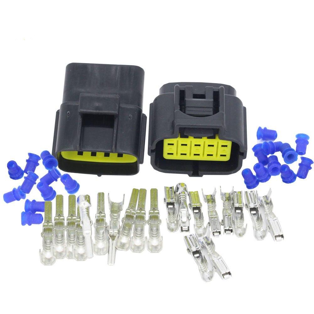 10 Pin Denso DJ71016Y-1.8-11/21 eléctrico a prueba de agua conector de cable conector para sensor de oxígeno macho conector para automóvil