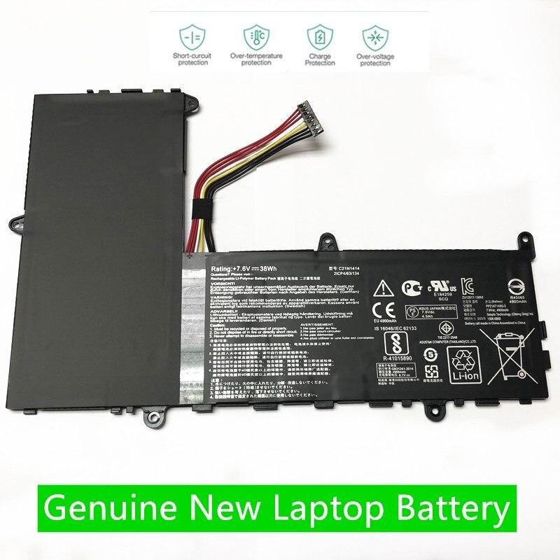 HKFZ جديد 7.6V 38WH C21N1414 بطارية كمبيوتر محمول ل ASUS EeeBook X205T X205TA X205TA-BING-FD015B 11.6
