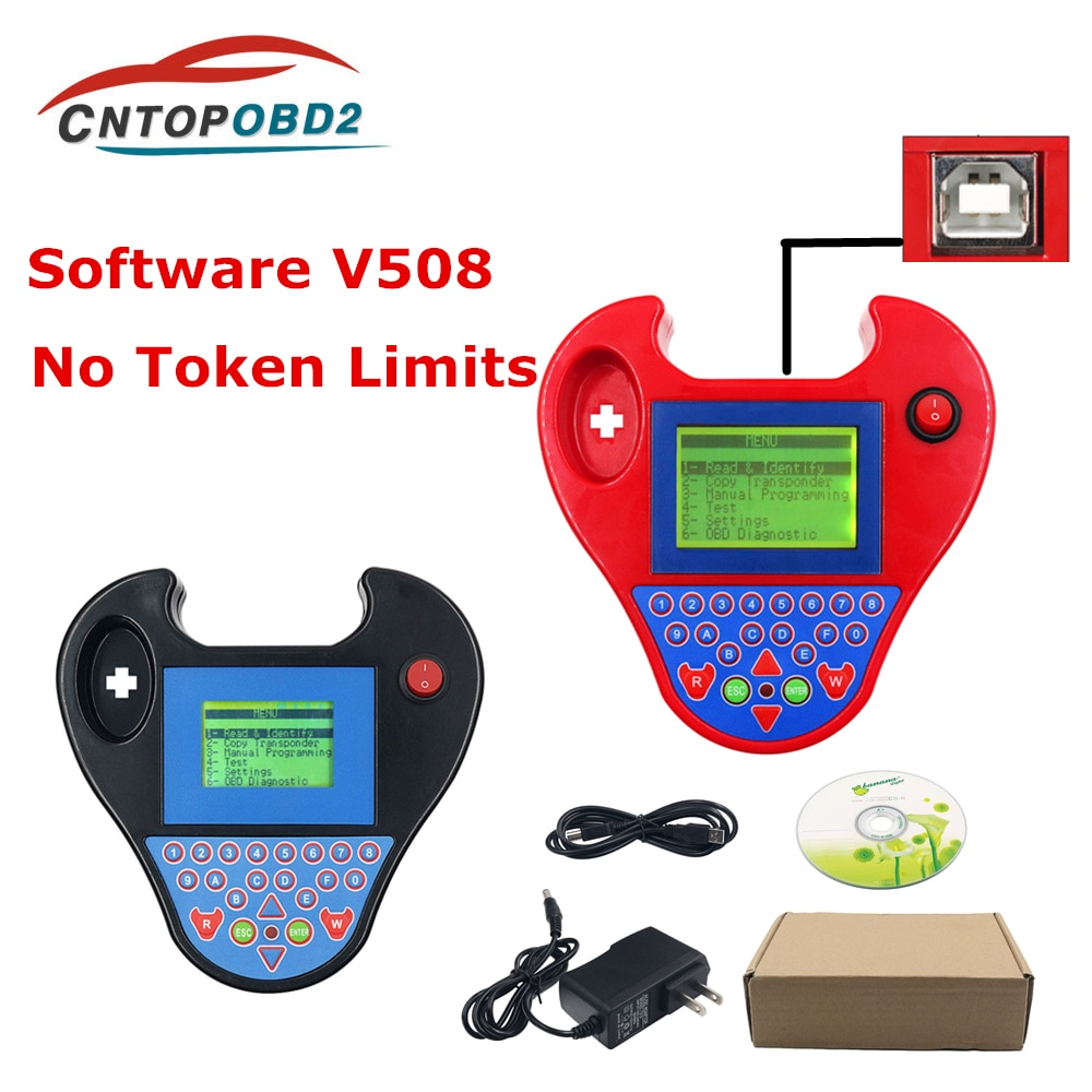 Mini Zedbull Auto key programmer V508 Smart Mini Zed Bull Transponder Clone Programmer Pocket Type N