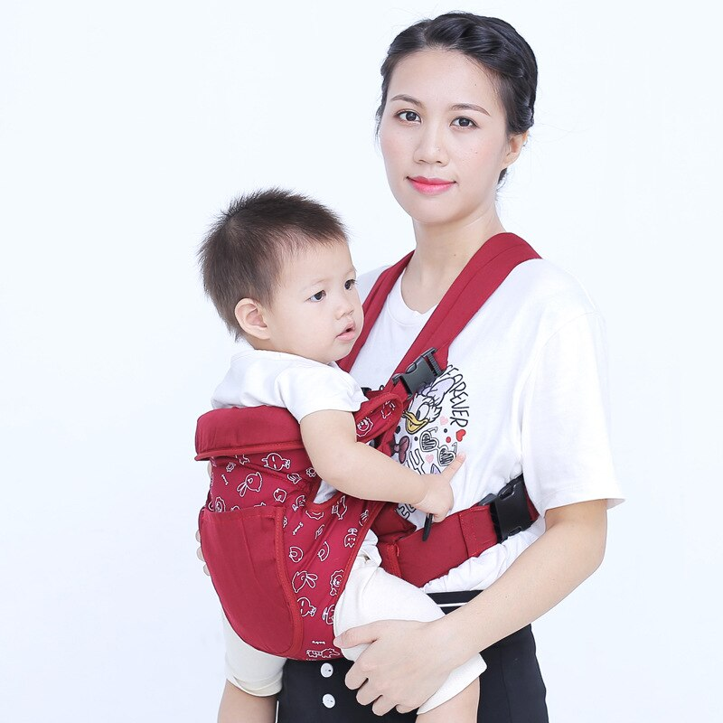 Newborn Baby Carriers 2021 New Infant Baby Toddler Carriers Multicolor Waist Stool Kids Carriers Childrens Labor-saving Carriers