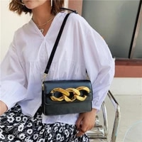 fashion thick chains shoulder bags brands designer crossbody bags for women 2021 small phone womens bag flap purses clutch tote