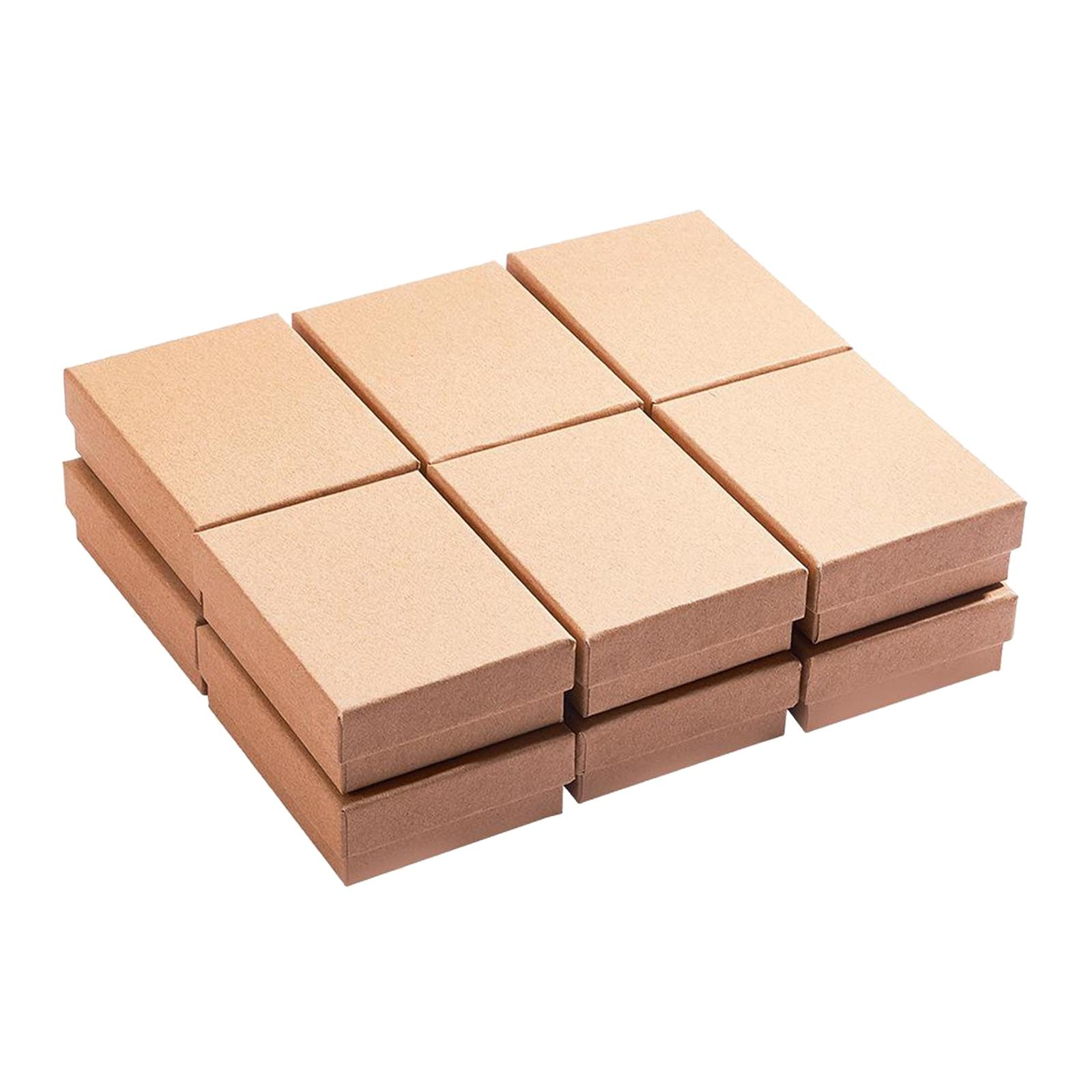 Набор-из-12-классический-Бумага-Цепочки-и-ожерелья-цепи-Дисплей-чехол-для-хранения-ювелирных-изделий-Подарочная-коробка-35x28x12-дюйм-ов