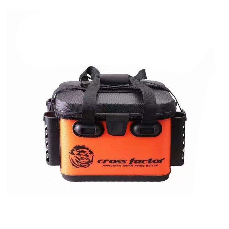 Fishing Tools Box Collapsible Folding Thicken EVA Plastic Live Fish Tank Bucket Oxygen Pump Outdoor Camping Fishing Tackle Boxes enlarge