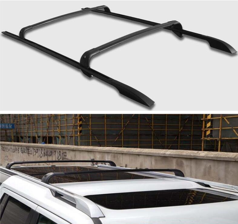 Liga de alumínio parafuso instalação telhado rack & barra transversal bagagem para land rover discovery 4 lr4 2010-2017 ano