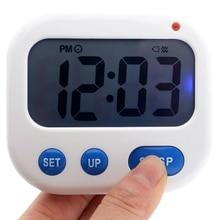 Vibration Alarm Clock for Deaf Luminova Led Digital Timer Electronic Candy Watch Desktop Display Stu