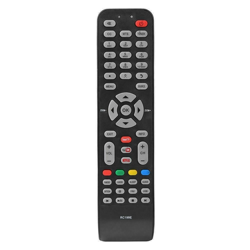Nuevo Control remoto 06-519W49-C005X para Tcl Hitachi Hkpro Ekt Hyundai Smart Tv