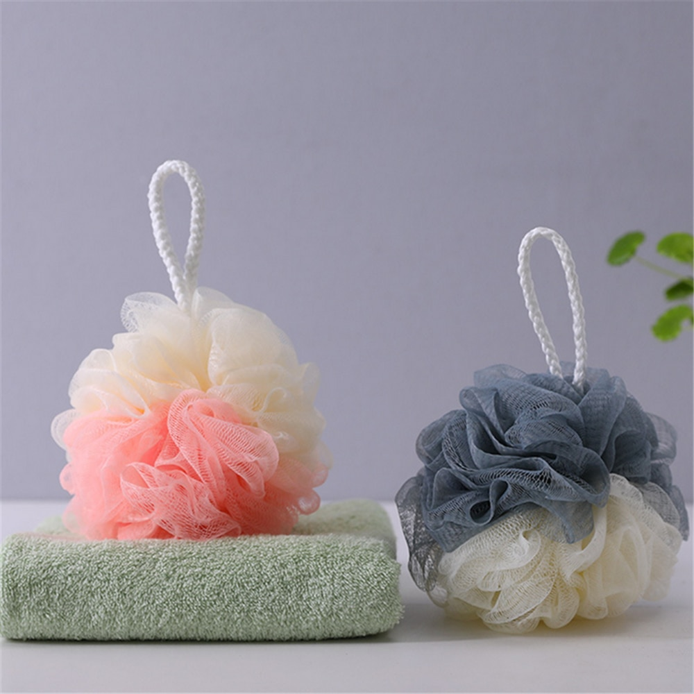 Bath Puff Body Exfoliating Massage Scrubber Shower Ball Beauty Bath Shower Large Bath Ball Hygienic
