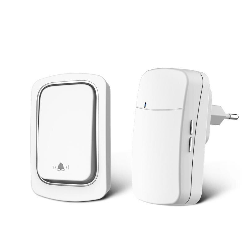 New Home Welcome Doorbell Intelligent Wireless Doorbell Waterproof 300M Remote EU UK US Plug Smart S