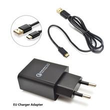 Framboise pi 4B ligne dalimentation type-c interface avec 5V 3A ue/US chargeur adaptateur USB chargeur alimentation maison voyage adaptateur chargeur