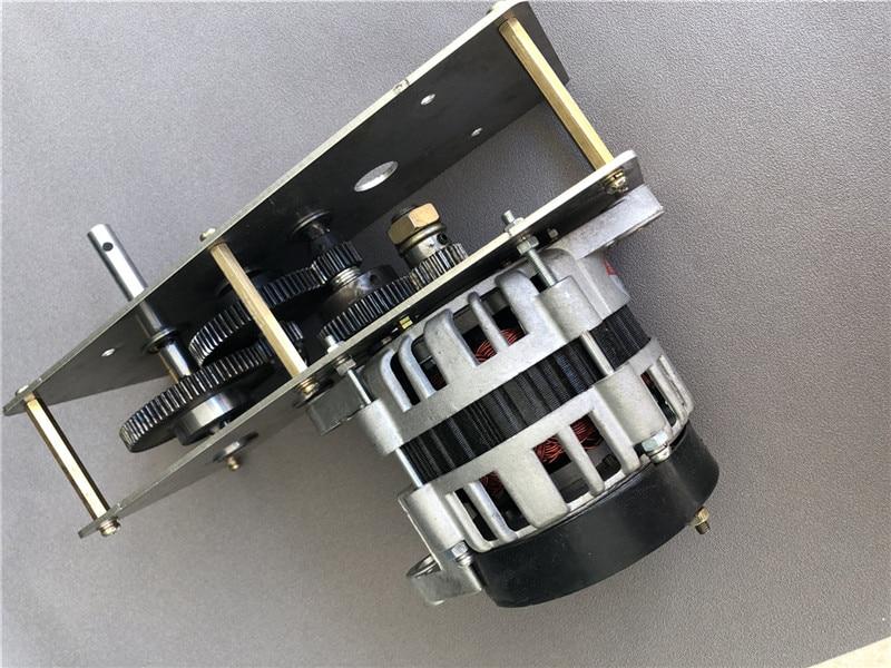 12v2000W ث كرنك اليد مولد بطارية سيارة تعمل بالبطارية في حالات الطوارئ شحن عالية الطاقة 14V24V28V فولت