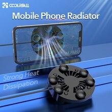 Coolreall Handy Kühler Gaming Universal Telefon Kühler Einstellbar Tragbare Fan Halter Kühlkörper Für iPhone Samsung Huawei