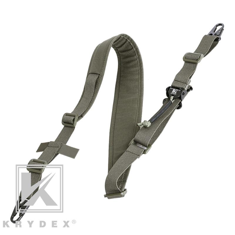 KRYDEX التكتيكية بندقية الرافعة رماية الصيد القتال وحدات حزام القابلة للإزالة 2 نقطة/1 نقطة 2.25