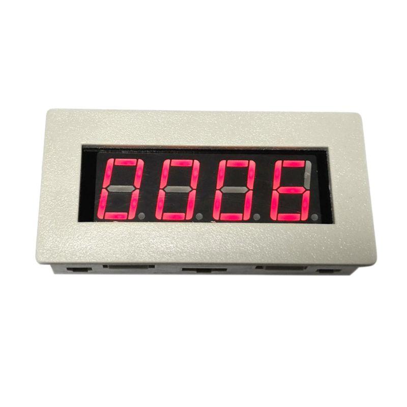 DC 5V 12V 36V disparador contador módulo acumulador 4-Bit rojo 0.56in pantalla de tubo Digital con carcasa