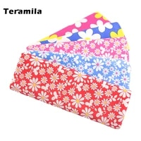 teramila soft womens shirts by the meter soft poplin cotton flowers printed fabric for sewing dresses quilt textile needlework