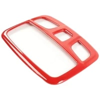 for suzuki jimny 2019 2020 car abs inner roof front reading light lamp cover trim frame stickers accessories
