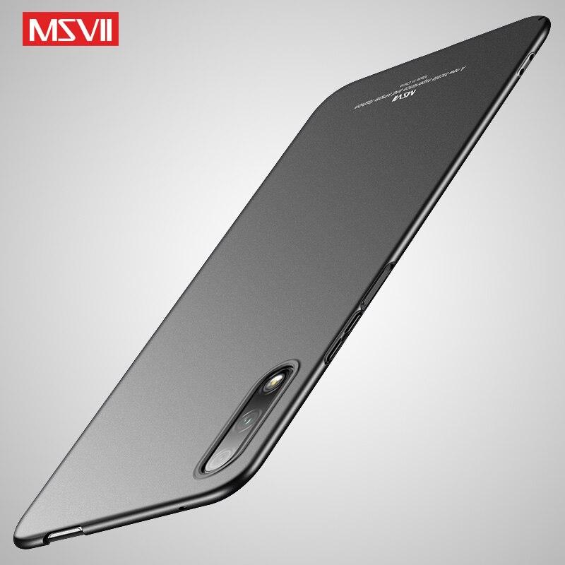 Honor 9 Lite funda Msvii de Coque para Huawei Honor 9X mundial caso Honor9 duro cubierta de la PC para Huawei Honor juego 9A casos