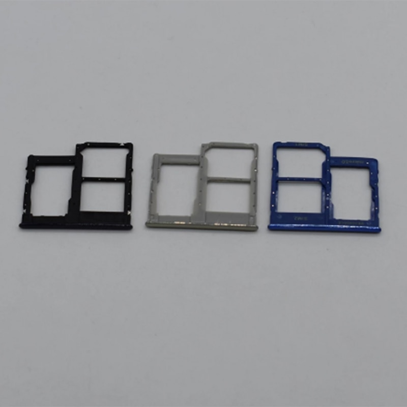 Slot Holder Dual For Samsung Galaxy A41 SD SIM Card Tray Reader Socket