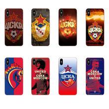 Soft Quinn Phone Moscow Cska Logo For Xiaomi Redmi Mi 4 7A 9T K20 CC9 CC9e Note 7 8 9 Y3 SE Pro Prime Go Play