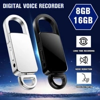 keychain 32gb digital voice recorder voice activated recording usb flash drive audio sound dictaphone portable voice recorder