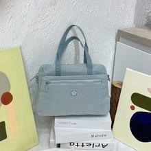 Simple Crossbody Money Bag Fashion Large Canvas Handbag for Women Sweet Printed Bag Female Shoulder
